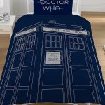 Doctor Who Classic Tardis Single Duvet Cover Set