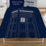 Doctor Who Classic Tardis Double Duvet Cover Set