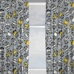 Despicable Me Minions Jailbird Curtains