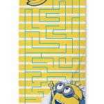 Despicable Me Minions Awesome Towel