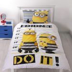 Despicable Me Minions Jailbird Single Duvet Cover Set