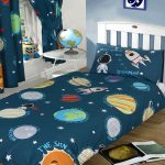 Solar System Planets & Space 4 in 1 Junior Bedding Bundle (Duvet,