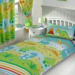 Roar Like a Dinosaur 4 in 1 Junior Bedding Bundle (Duvet, Pillow and