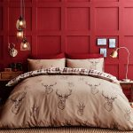 Catherine Lansfield Stag Double Duvet Cover & Pillowcase Set