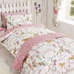 Horse Show Single Duvet Cover and Pillowcase Set