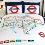 London Underground Tube Map Double Duvet Cover and Pillowcase Set