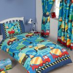Construction Time 4 in 1 Junior Bedding Bundle (Duvet, Pillow and
