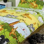 Jungle Animals 4 in 1 Junior Bedding Bundle (Duvet, Pillow and Covers)