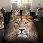 Lion Double Duvet Cover and Pillowcase Set