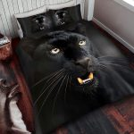 Black Panther Single Duvet Cover and Pillowcase Set