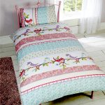 Little Birdies Single Duvet Cover and Pillowcase Set