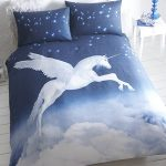 Unicorn Single Duvet Cover and Pillowcase Set