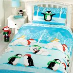 Christmas Cuddles Single Duvet Cover and Pillowcase Set