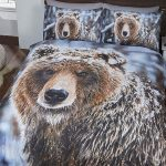 Big Bear Double Duvet Cover and Pillowcase Set