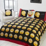 Emoji Icons Single Duvet Cover and Pillowcase Set