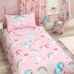 I Believe In Unicorns 4 in 1 Junior Bedding Bundle Set (Duvet, Pillow