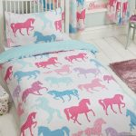 Patchwork Ponies Junior Duvet Cover and Pillowcase Set