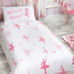 Born to Dance Ballerina Single Duvet Cover and Pillowcase Set