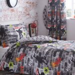 Skateboard Tricks Double Duvet Cover and Pillowcase Set