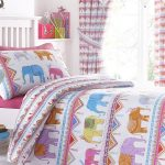 Carnival Elephants Single Duvet Cover and Pillowcase Set