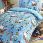 Sea Pirates Single Duvet Cover and Pillowcase Set