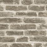 Rustic Brick Wallpaper Pale Brown Direct Wallpapers J34407