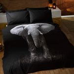 Elephant Single Duvet Cover and Pillowcase Set