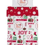 Elf on the Shelf 4 in 1 Junior Bedding Bundle Set (Duvet and Pillow