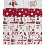 Elf on the Shelf Double Cotton Duvet Cover and Pillowcase Set