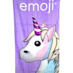 Emoji Unicorn Towel