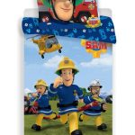 Fireman Sam Rescue Single Cotton Duvet Cover Set