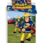 Fireman Sam Extinguish Single Cotton Duvet Cover Set