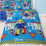 Fireman Sam Cool Single Duvet Cover and Pillowcase Set