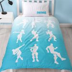 Official Fortnite Single Duvet Cover Battle Royale Shuffle Set