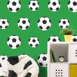 Goal Football Wallpaper Green Belgravia Decor 9723