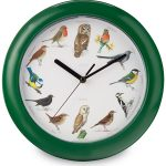 Bird Song Musical Wall Clock