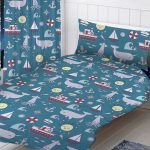 Nautical Sea Junior Toddler Duvet Cover and Pillowcase Set