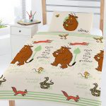 The Gruffalo Woodland 4 in 1 Junior Bedding Bundle Set (Duvet and