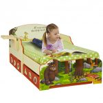 The Gruffalo Toddler Bed with Storage and Shelf and Foam Mattress
