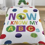 The Very Hungry Caterpillar ABC Single Duvet Cover Set