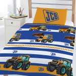 JCB 4 in 1 Junior Bedding Bundle (Duvet, Pillow and Covers)
