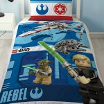 Lego Star Wars Battle Single Duvet Cover and Pillowcase Set