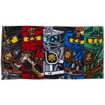 Lego Ninjago Warrior Towel