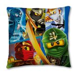 Lego Ninjago Crop Canvas Cushion