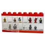 Lego Large Minifigure Display Case – Red