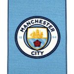 Manchester City FC Crest Floor Rug