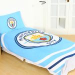 Manchester City FC Pulse Single Duvet Cover Set