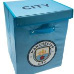 Manchester City FC Fabric Storage Box