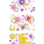 Magical Fairy Quick-Sticks Wall Stickers 44 pieces