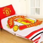 Manchester United FC Pulse Single Duvet Cover Set